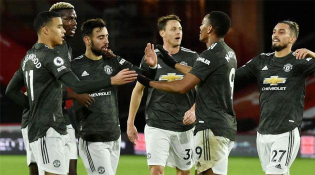 Manchester United a câștigat meciul din deplasare cu Sheffield United (scor 2-3)