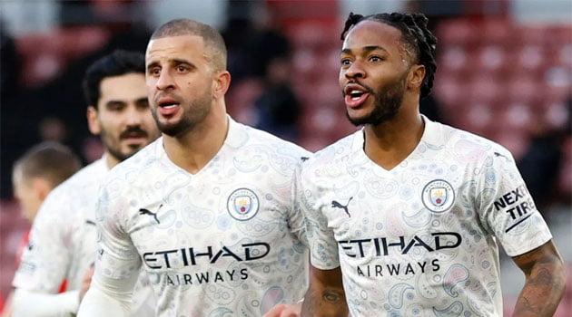 Raheem Sterling a marcat unicul gol al meciului Southamton - Manchester City