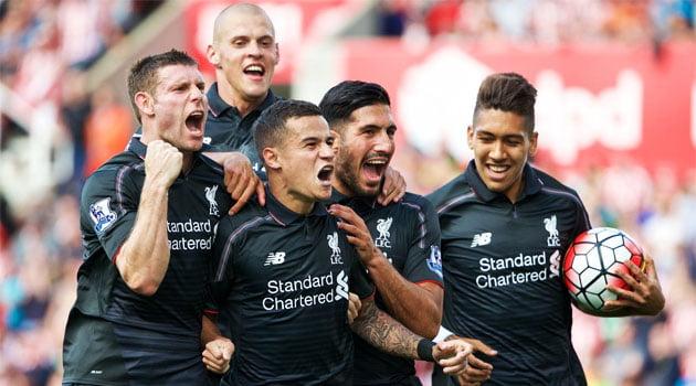 Coutinho a adus prima victorie pentru Liverpool în Premier League 2015-2016