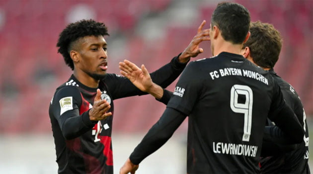 Stuttgart - Bayern 0-2 (noiembrie 2020)