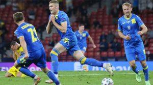 Artem Dovbyk a adus prima calificare a Ucrainei în sferturile unui Campionat European după ce a marcat golul decisiv în meciul cu Suedia
