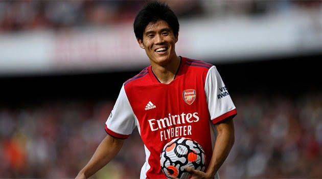 Takehiro Tomiyasu, jucător transferat de Arsenal în vara anului 2021