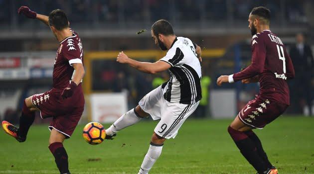 Torino - Juventus 1-3 (Serie A, 11 decembrie 2016)