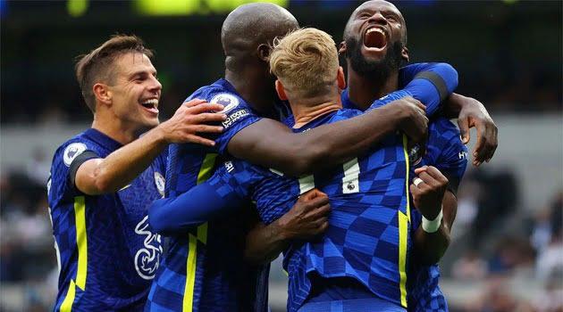 Chelsea, în victoria din deplasare cu Tottenham (3-0, 19 septembrie 2021)