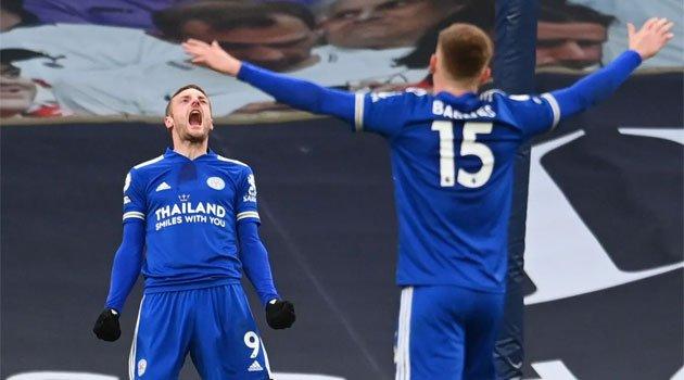 Jamie Vardy, instrumental în victoria lui Leicester pe terenul lui Tottenham (2-0)