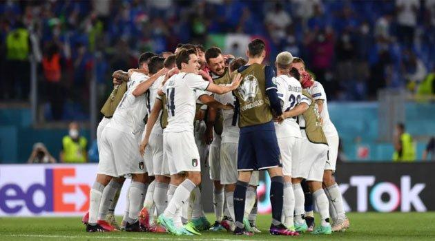 Italia a câștigat cu 3-0 meciul cu Turcia la startul EURO 2020