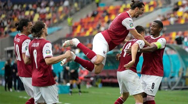 Austria a obținut calificarea în optimile EURO 2020 după ce a învins Ucraina pe Arena Națională din București