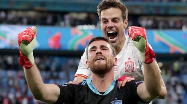 Unai Simon, eroul Spaniei în seria penalty-urilor cu Elveția din sferturile EURO 2020