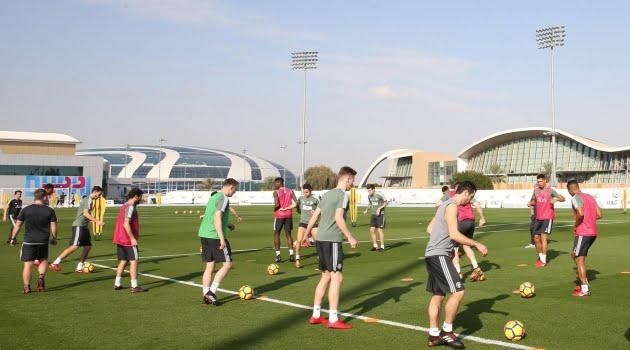 Manchester United aflată în cantonamentul din Dubai