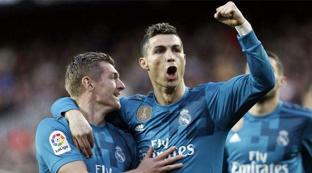 Valencia - Real Madrid 1-4, cu două penalty-uri transformate de Cristiano