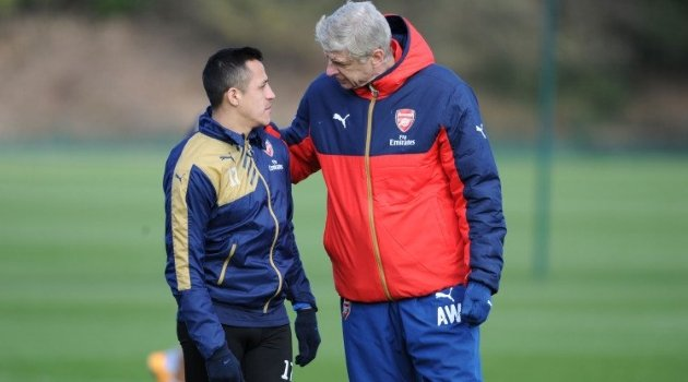 Alexis Sanchez, Arsene Wenger (Arsenal)