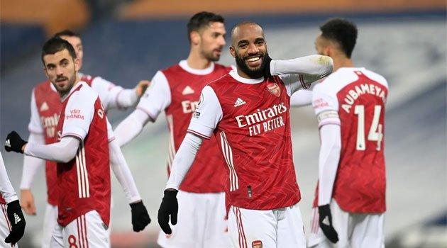 Arsenal a câștigat convingător pe terenul lui West Brom (4-0, 2 ianuarie 2021)