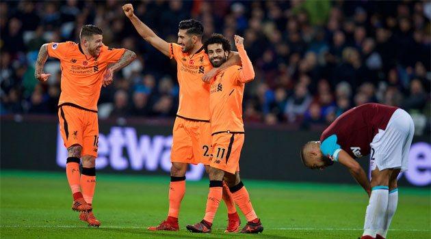 Liverpool a câștigat pe terenul lui West Ham, scor 4-1