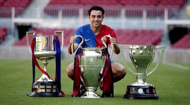 Xavi Hernandez, fostul jucător al Barcelonei
