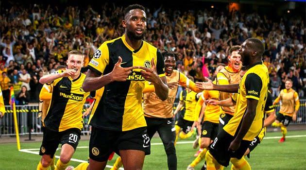 Siebatcheu a marcat în prelungiri golul victoriei lui Young Boys Berna în fața lui Manchester United