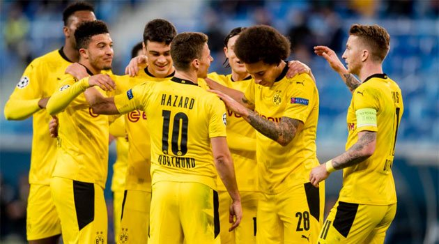 Borussia Dortmund și-a concretizat câștigarea grupei de Champions League după victoria de la St.Petersburg, 2-1 cu Zenit