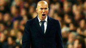 Zinedine Zidane, după victoria lui Real Madrid pe Camp Nou (aprilie 2016)